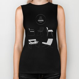 CHAIRS - A tribute to seats (special edition) Biker Tank
