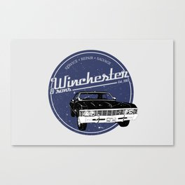 Winchester & sons Canvas Print