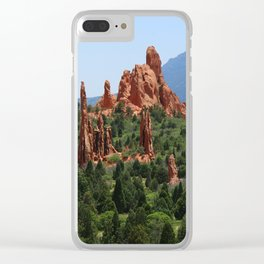 Cathedral Valley Clear iPhone Case
