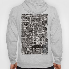 Chemical Elements Hoody