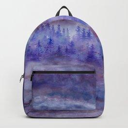 Misty Pine Forest Backpack