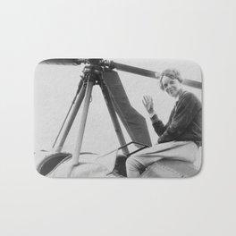 Amelia Earhart Bath Mat