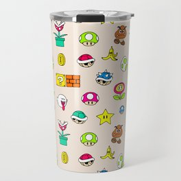 Mario pattern Travel Mug