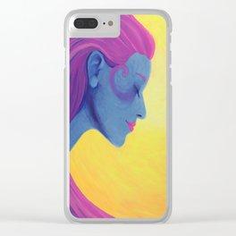Nice Dream Clear iPhone Case