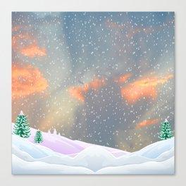 My Snowland | Christmas Spirit Canvas Print