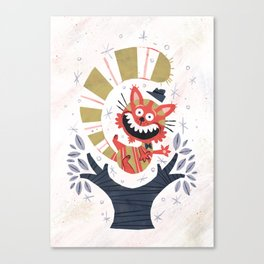 Cheshire Cat - Alice in Wonderland Canvas Print