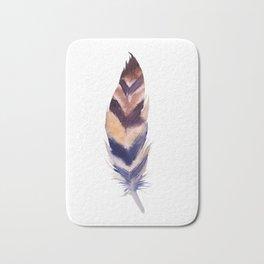 feather study 2 Bath Mat