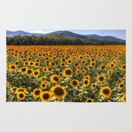 Sunflower Fields Of Dreams Rug