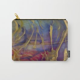 Lush Rainbow Pattern Carry-All Pouch