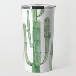 Three Amigos White + Green by Nature Magick Travel Mug