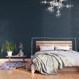 Sand Castle ~ Denim Blue Wallpaper
