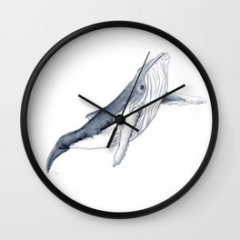 Baby humpback whale for children kid baby Wall Clock