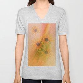 4 Sunflowers Unisex V-Neck