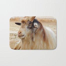 Condescending goat ammotragus lervia Bath Mat