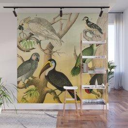 6 Birds Wall Mural