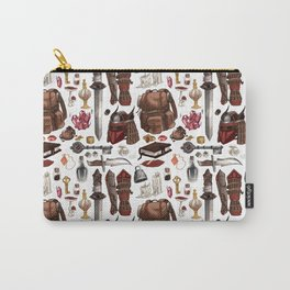 Quest pattern Carry-All Pouch