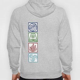 The 4 elements Hoody