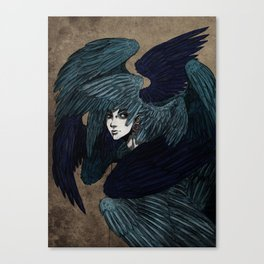 Alkonost Canvas Print