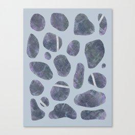 Stones, Pebbles, Rocks Canvas Print