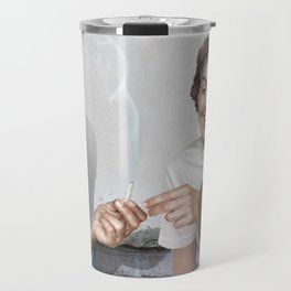 John and Paul get away from it all Travel Mug