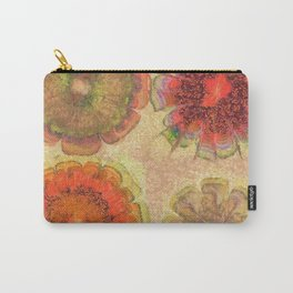 Nonpacificatory Structure Flowers  ID:16165-075207-87310 Carry-All Pouch