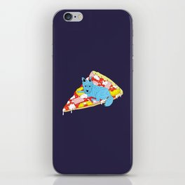 Pizza Dog iPhone Skin