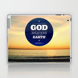 In the Beginning Laptop & iPad Skin