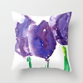 flower X Throw Pillow
