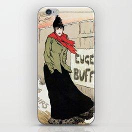 Eugénie Buffet winter iPhone Skin