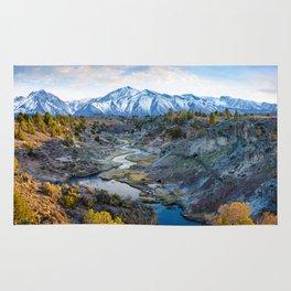 Eastern Sierra Nevada Journey, Hot Creek Rug