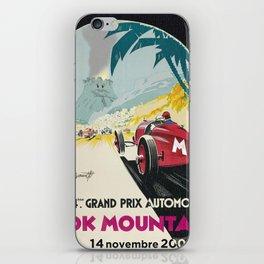 DK Mountain Grand Prix iPhone Skin