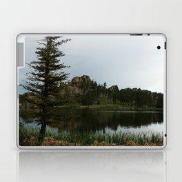 Moody Evening  At Sylvan Lake Laptop & iPad Skin