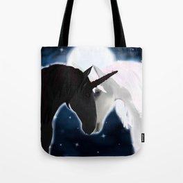 Unicorn love Tote Bag