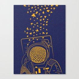 ASTRO LINES Canvas Print