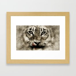 TIGER VII Framed Art Print