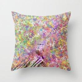 Nature Reverie - Bluebird Throw Pillow
