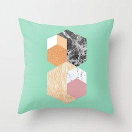 Tesellation III Throw Pillow