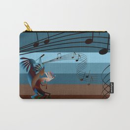 Southwest Kokopelli Music Carry-All Pouch