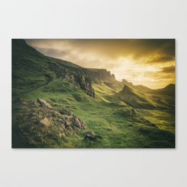 Mesmerized By the Quiraing IV Canvas Print
