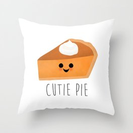 Cutie Pie Throw Pillow