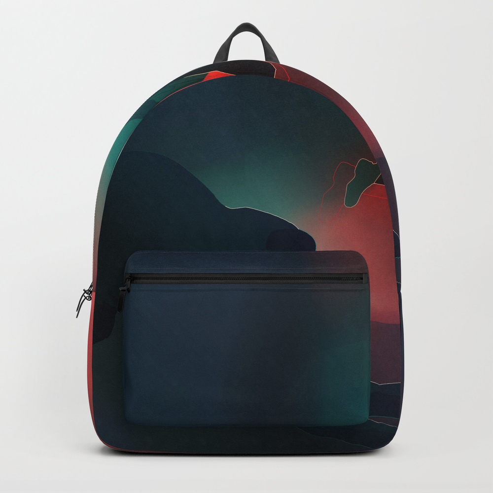 Just Getting Started Backpack by Finishyourmeal BKP7999598