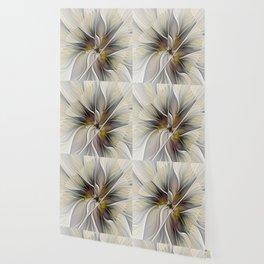 Floral Abstract, Fractal Art Wallpaper