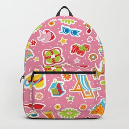 Summer Fun Pink Backpack