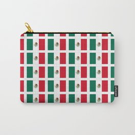 Flag of mexico 2- mexico,mexico city,mexicano,mexicana,latine,peso,spain,Guadalajara,Monterrey Carry-All Pouch