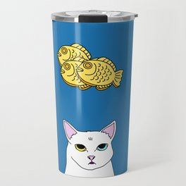 Fat D. Loves Taiyaki Travel Mug