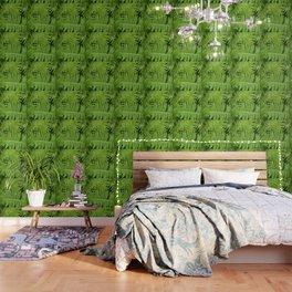 GREEN FERN POETRY Wallpaper