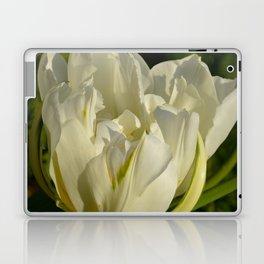 Double White Tulip by Teresa Thompson Laptop & iPad Skin