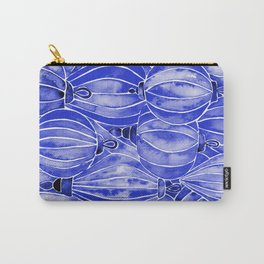 Vietnamese Lanterns – Navy Carry-All Pouch