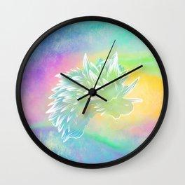 Rainbow Sea Slug Wall Clock