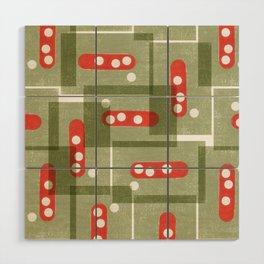 Abstract no2 Wood Wall Art